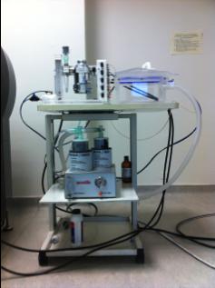 Poste d'anesthésie pour les études in vivo